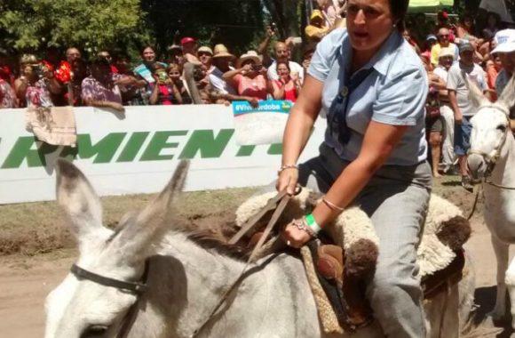 la-intendenta-de-estacion-juarez-celman-en-el-rally-de-burros