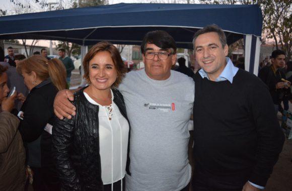 Myrian Prunotto y Ramón Mestre presentaron el programa Sí Sí Virtual en Estación Juárez Celman (2)