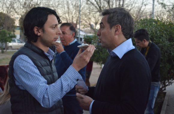 Myrian Prunotto y Ramón Mestre presentaron el programa Sí Sí Virtual en Estación Juárez Celman (9)