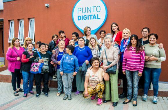 Punto Digital estación Juárez Celman gestión Myrian Prunotto