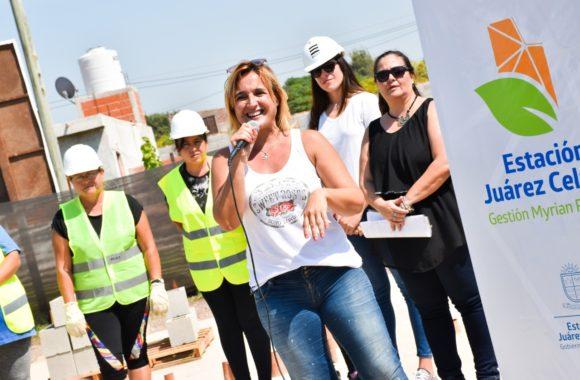Mujeres que construyen- Gestión Myrian Prunotto