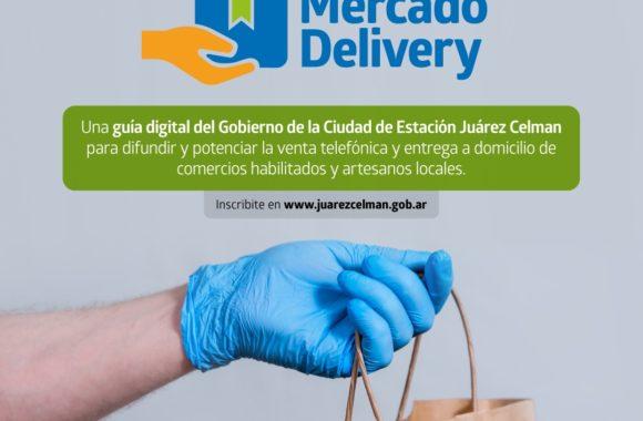 Mercado Delivery Estación Juárez Celman Gestión Myrian Prunotto