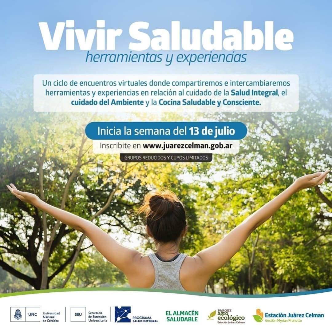 Ciclo-de-encuentros-virtuales-vivir-saludable-Estación-Juárez-Celman-gestión-Myrian-Prunotto