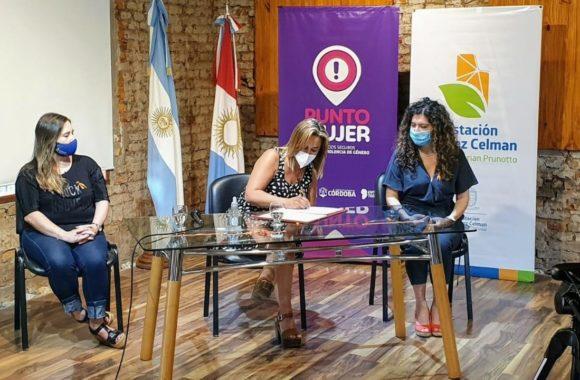 Estación Juárez Celman ya tiene su Punto Mujer Gestión Myrian Prunotto (3)