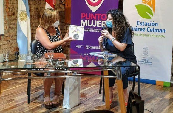 Estación Juárez Celman ya tiene su Punto Mujer Gestión Myrian Prunotto (5)