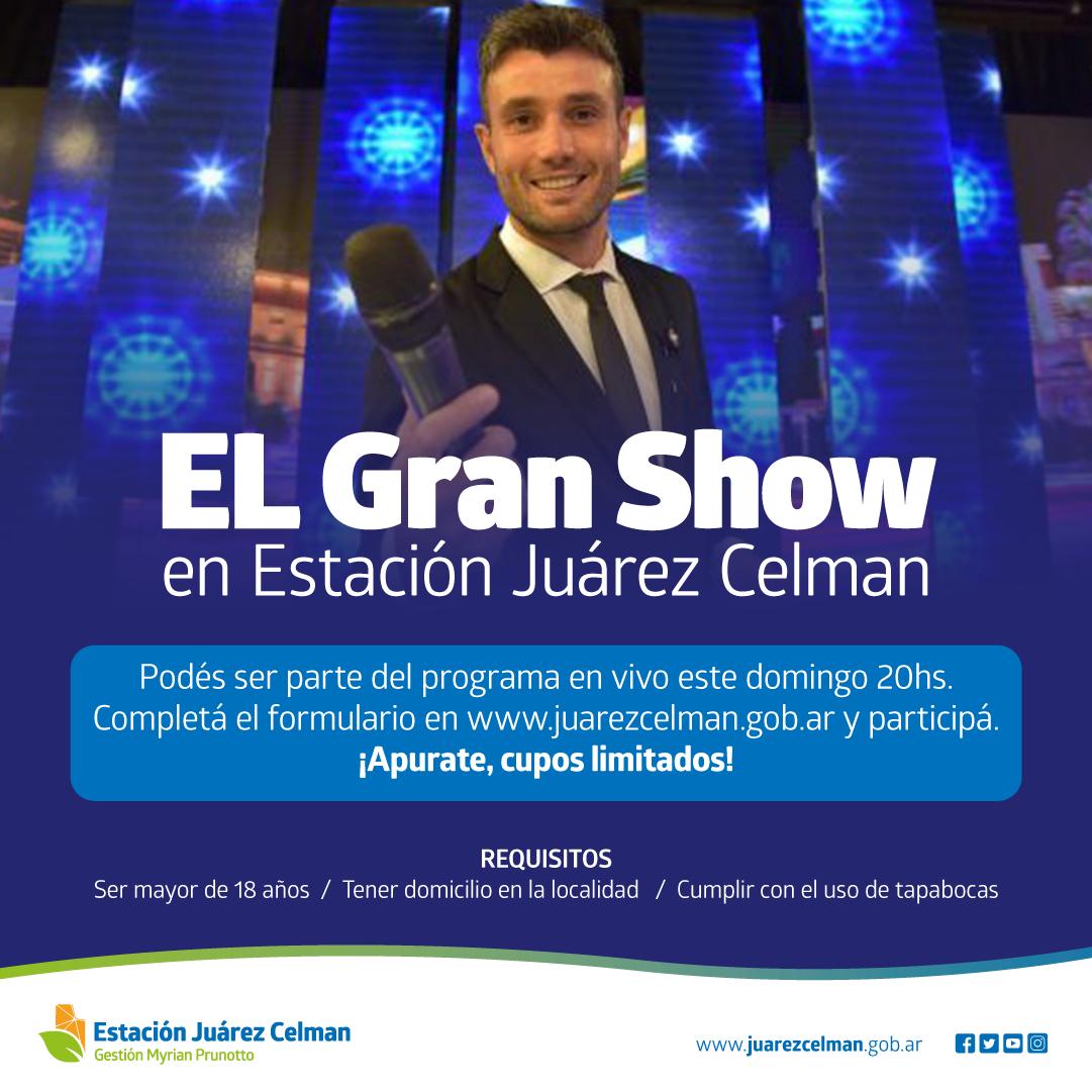 EL-Gran-Show-en Estación Juárez Celman Gestión Myrian Prunotto