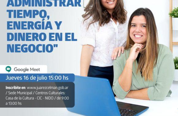 Conversatorio-ambientándonos-Administrar-tiempo-en-el-negocio-Estación-Juárez-Celman-Gestión-Myrian-Prunotto