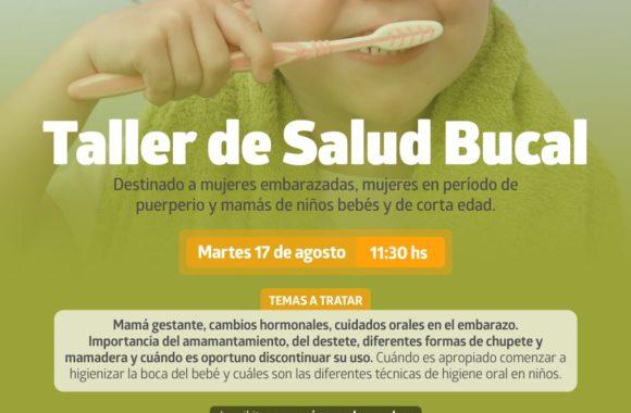 Taller de Salud Bucal Estación Juárez Celman Gestión Myrian Prunotto